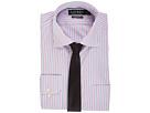 LAUREN Ralph Lauren LAUREN Ralph Lauren - Non Iron Poplin Stretch Classic Fit Spread Collar Stripe Dress Shirt