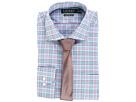 LAUREN Ralph Lauren LAUREN Ralph Lauren - Non Iron Poplin Stretch Classic Fit Spread Collar Plaid Dress Shirt