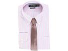 LAUREN Ralph Lauren Non Iron Poplin Stretch Classic Fit Button Down Collar Stripe Dress Shirt