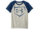 Under Armour Kids - Home Plate Logo Raglan Short Sleeve (Little Kids/Big Kids)