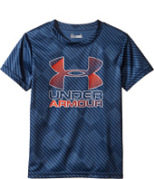 Under Armour Kids - Tilt Shift Big Logo Short Sleeve (Little Kids/Big Kids)