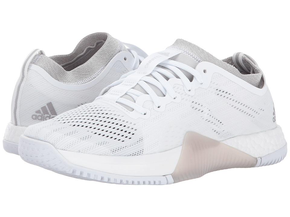 adidas CrazyTrain Elite (Footwear White/Tech Silver Metallic/Grey One) Women