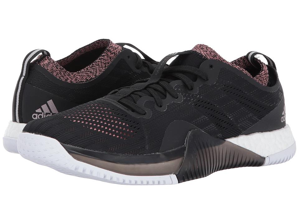 adidas CrazyTrain Elite (Core Black/Tech Silver Metallic/Tactile Rose) Women