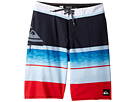 Quiksilver Kids - Slab Logo Vee 18 Boardshorts (Big Kids)