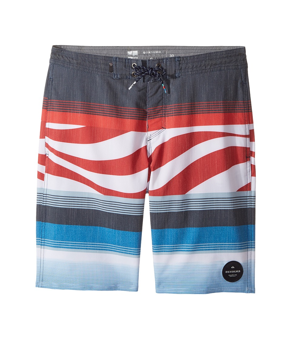 Quiksilver Kids Swell Vision PR Beachshort 17 (Big Kids) (Imperial Blue) Boy
