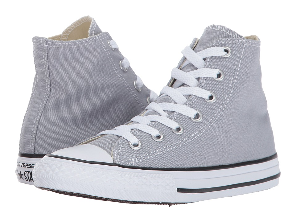 Converse Kids Chuck Taylor All Star Hi (Little Kid) (Wolf Grey) Kids Shoes