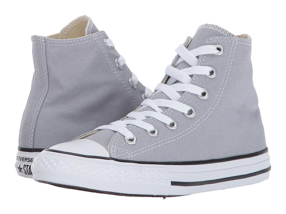 Converse Kids Chuck Taylor All Star Hi (Little Kid) (Wolf Grey) Kids Shoes