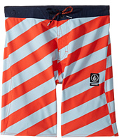 Volcom Kids - Stripey Half Stoney Boardshort (Little Kids/Big Kids)