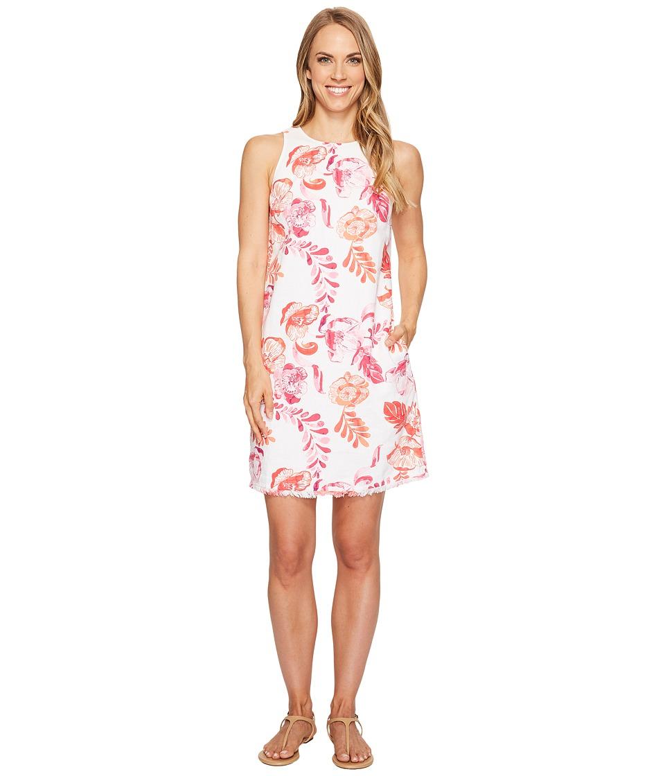 Tommy Bahama Florals Falling Sleeveless Short Dress (Raspberry Sorbet) Women