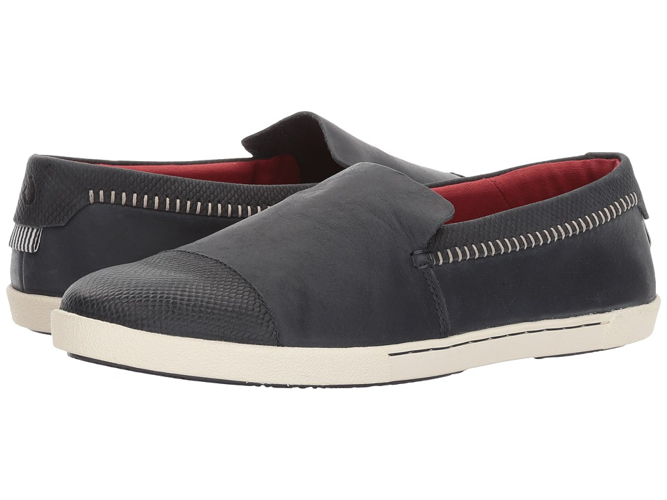 OluKai 'Alohi (Trench Blue/Trench Blue) Slip-On Shoes