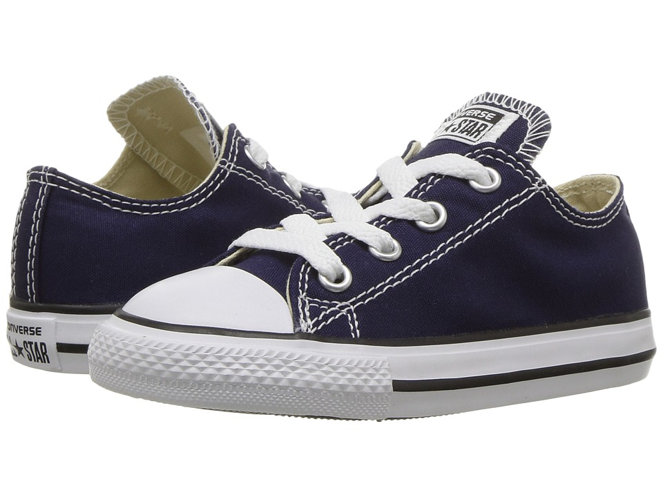 Converse Kids Chuck Taylor All Star Ox (Infant/Toddler) (Midnight Indigo) Kids Shoes