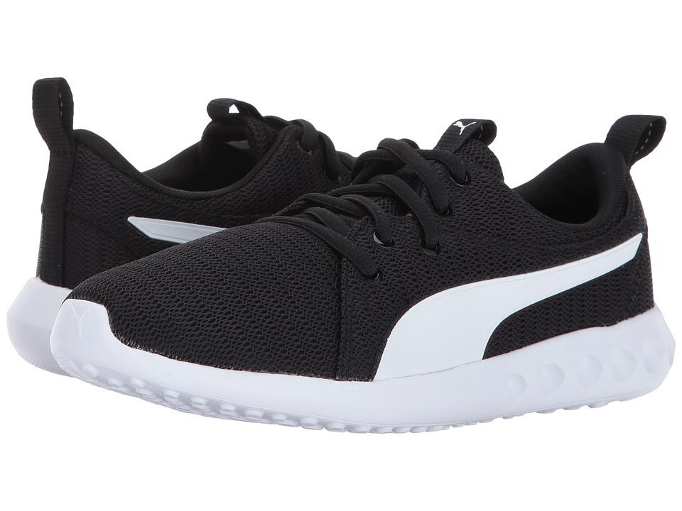 Puma Kids Carson 2 (Big Kid) (Puma Black/Puma White) Boys Shoes