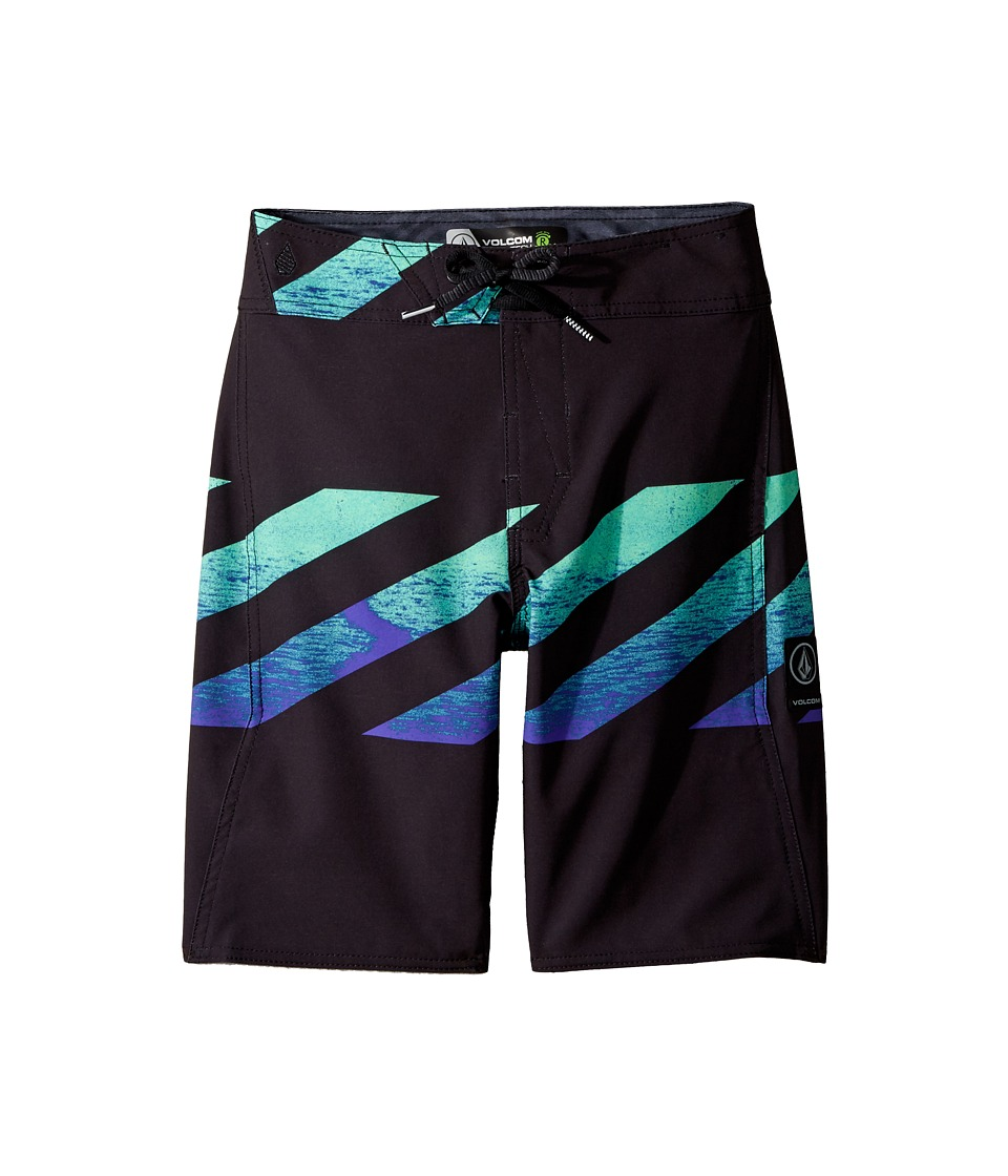 Volcom Kids Macaw Mod Boardshorts (Big Kids) (Aqua) Boy
