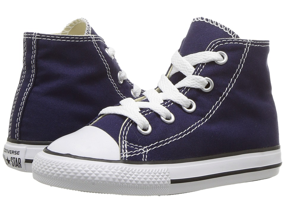 Converse Kids Chuck Taylor All Star Hi (Infant/Toddler) (Midnight Indigo) Kids Shoes