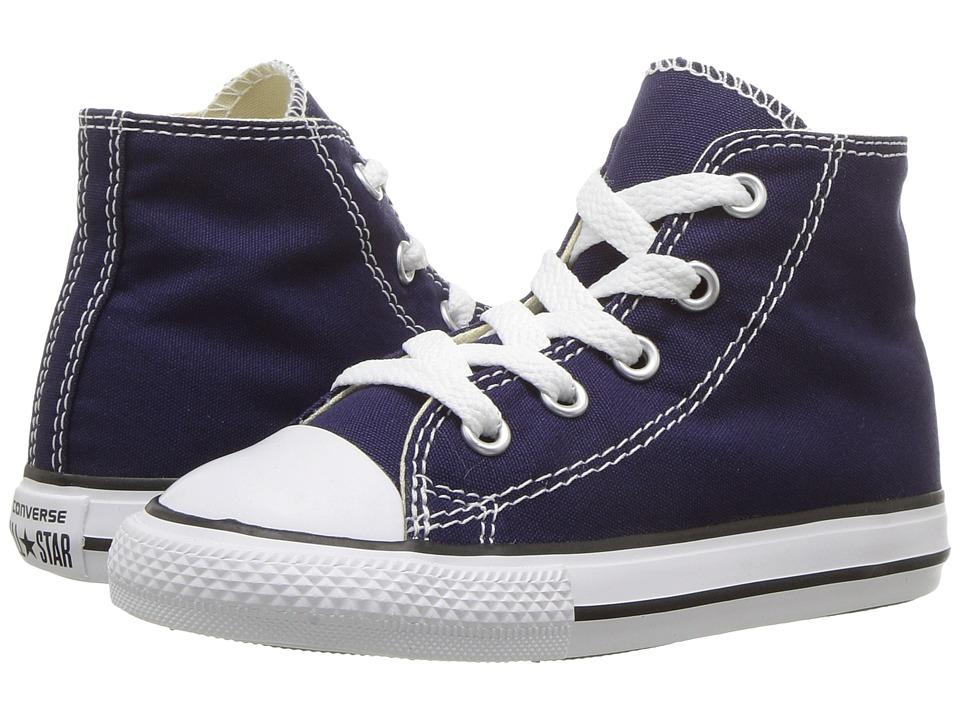 Converse Kids Chuck Taylor All Star Hi (Infant/Toddler) (Midnight Indigo) Kids Shoes