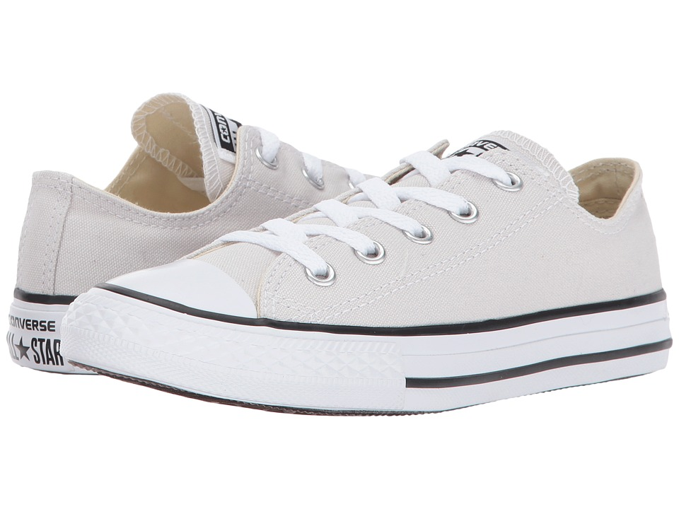 Converse Kids Chuck Taylor All Star Ox (Little Kid) (Pale Putty) Kids Shoes