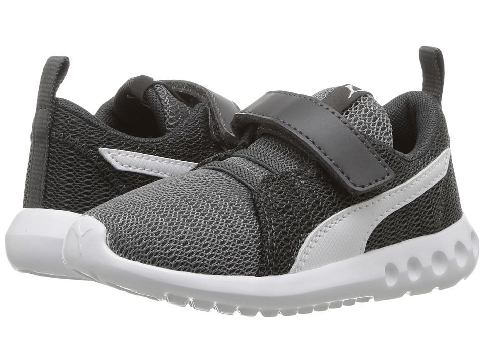 Puma Kids Carson 2 V (Toddler) (Quiet Shade/Puma White) Boys Shoes
