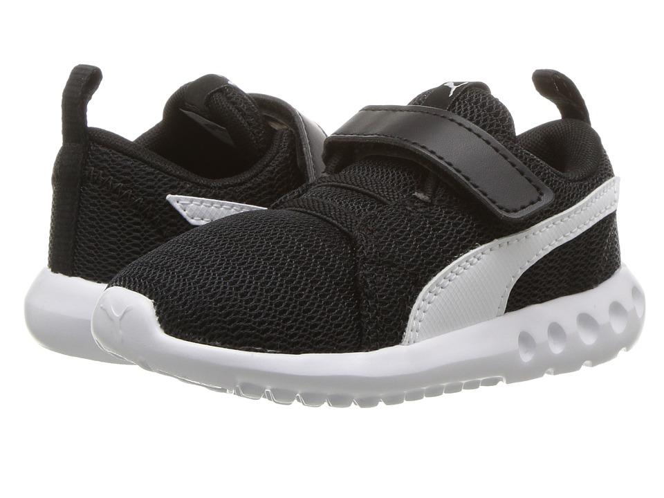 Puma Kids Carson 2 V (Toddler) (Puma Black/Puma White) Boys Shoes