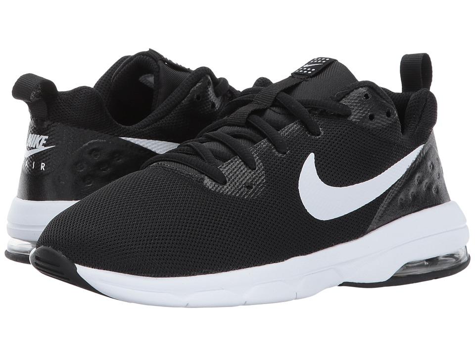 Nike Kids Air Max Motion LW (Little Kid) (Black/White) Boys Shoes