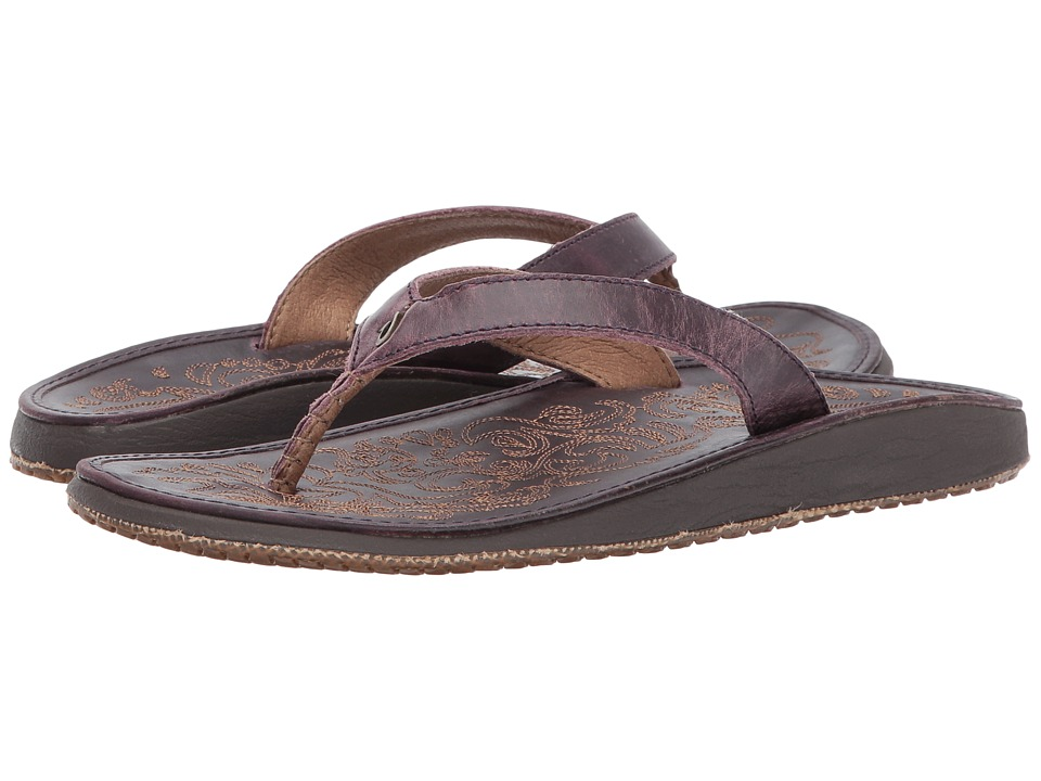 OluKai - Paniolo (Blackberry/Blackberry) Womens Sandals
