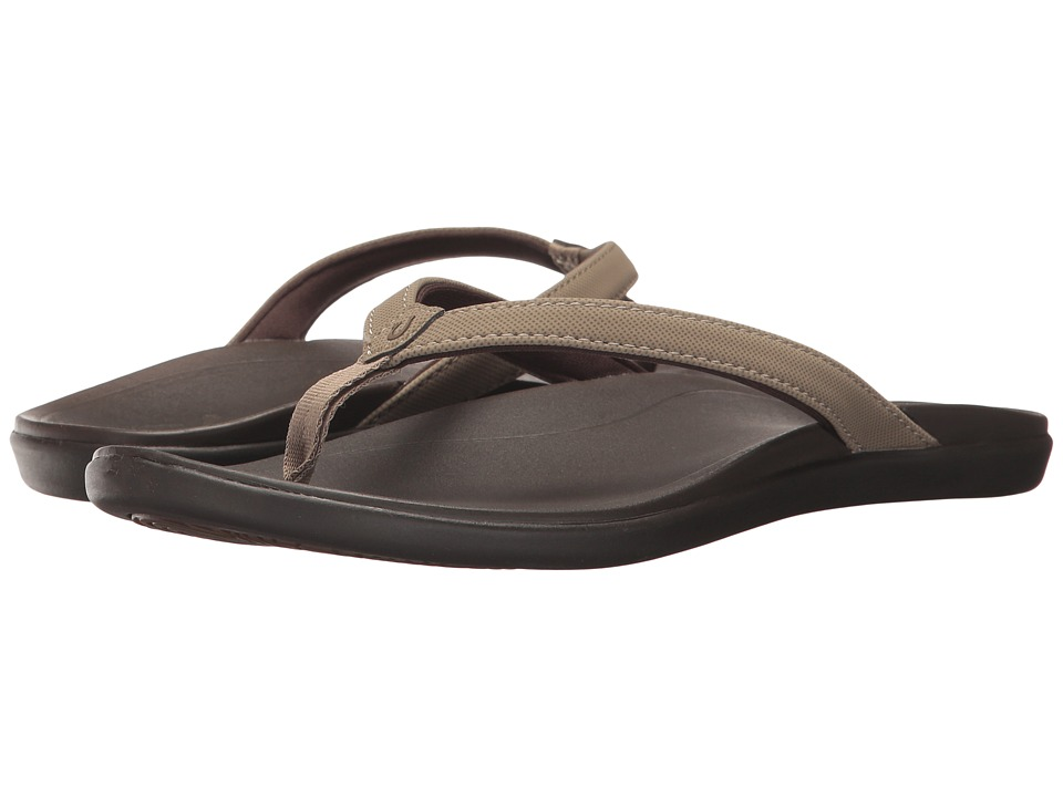 OluKai Ho'opio (Clay/Dark Java) Sandals