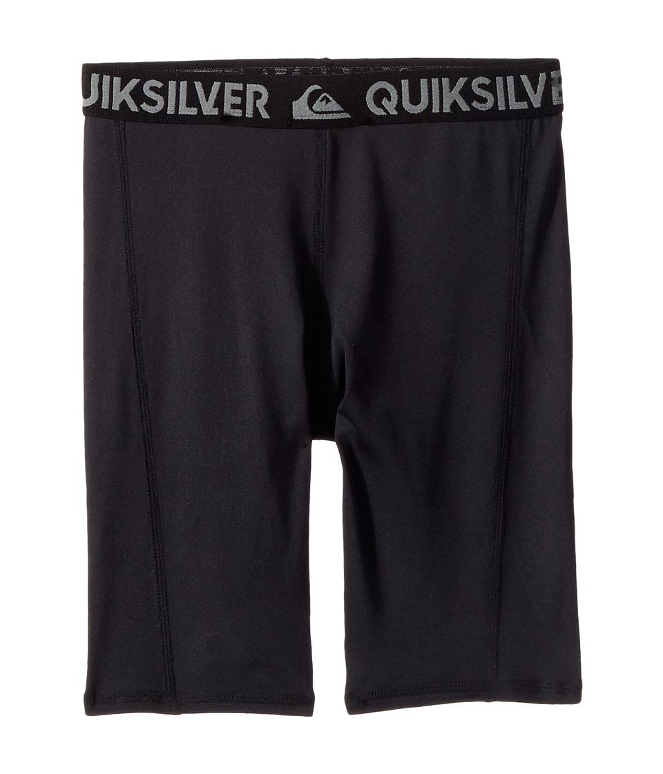 Quiksilver Kids Rashie Shorts (Big Kids) (Black) Boy