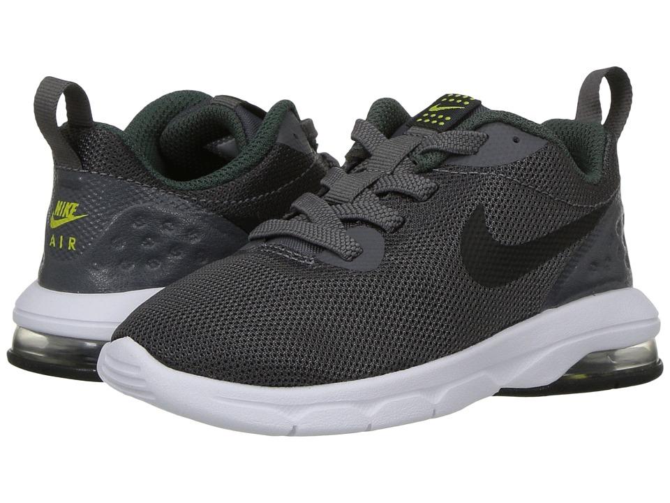 Nike Kids Air Max Motion LW (Infant/Toddler) (Dark Grey/Black/Vintage Green) Boys Shoes