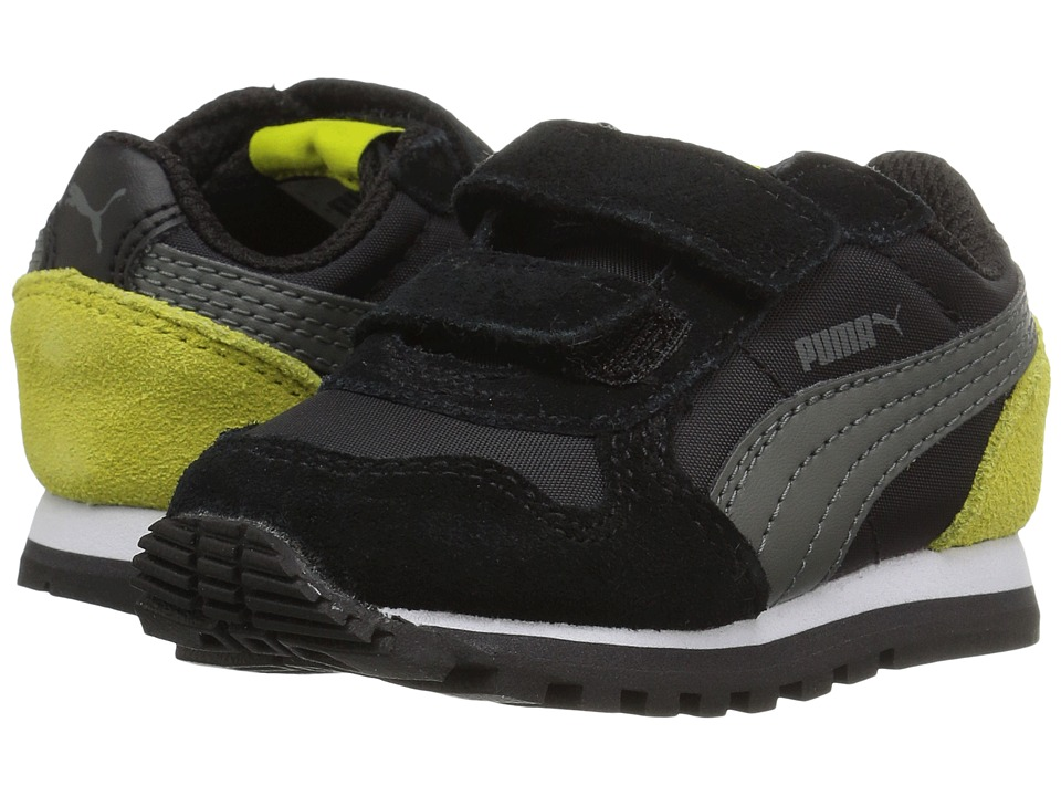 Puma Kids ST Runner NL V (Toddler) (Puma Black/Dark Shadow) Boy's Shoes