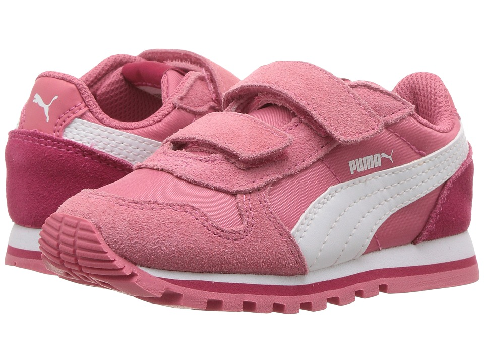 Puma Kids ST Runner NL V (Toddler) (Rapture Rose/Puma White) Girls Shoes