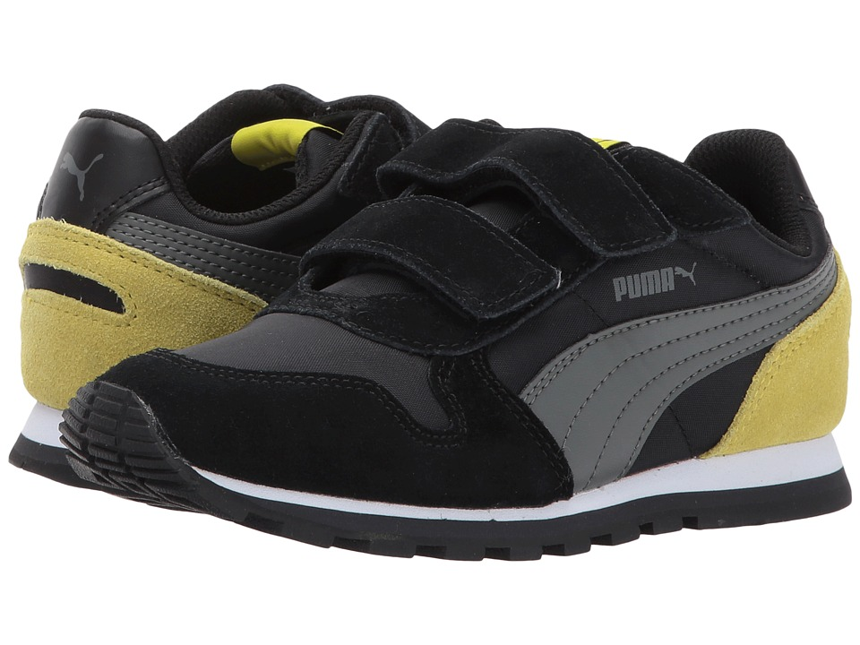 Puma Kids - ST Runner NL V (Little Kid/Big Kid) (Puma Black/Dark Shadow) Boys Shoes