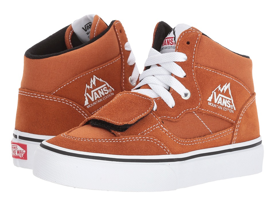 Vans Kids Mountain Edition (Little Kid/Big Kid) ((Canvas & Suede) Glazed Ginger) Boys Shoes