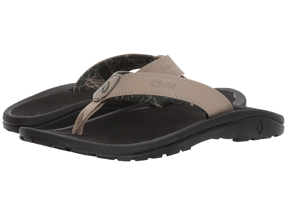 OluKai - Ohana (Clay/Black) Mens Sandals
