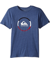 Quiksilver Kids - Active Logo Blocked Tee (Big Kid)