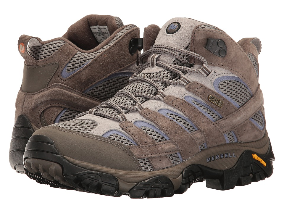 Merrell-Moab 2 Mid Waterproof  (Falcon) Womens Shoes