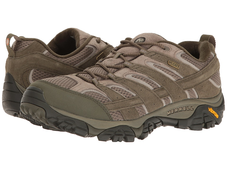 Merrell - Moab 2 Waterproof (Dusty Olive) Mens Shoes