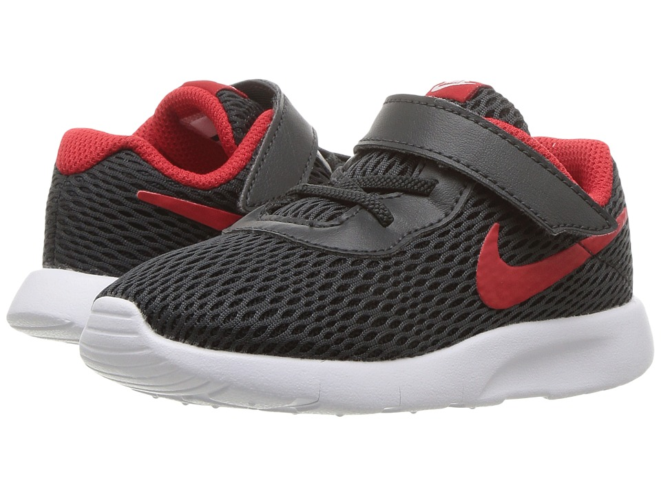 Nike Kids Tanjun (Infant/Toddler) (Anthracite/University Red/White) Boys Shoes