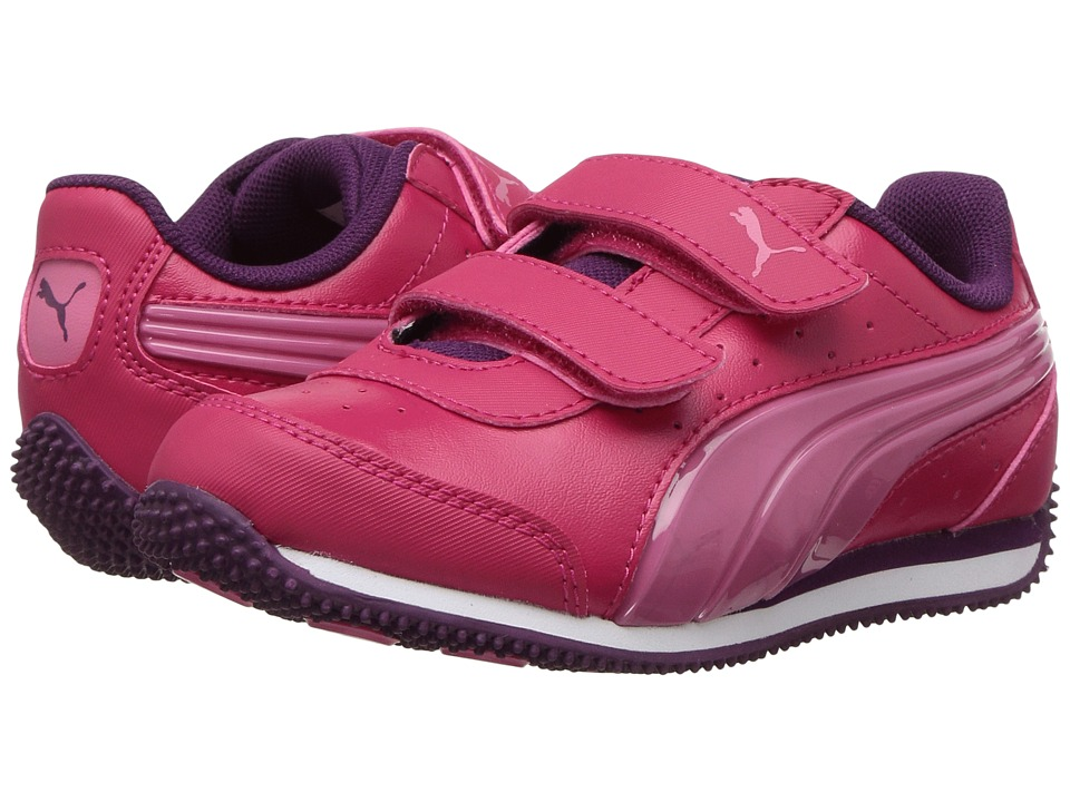 Puma Kids Speed Lightup Power V (Little Kid/Big Kid) (Love Potion/Rapture Rose) Girls Shoes