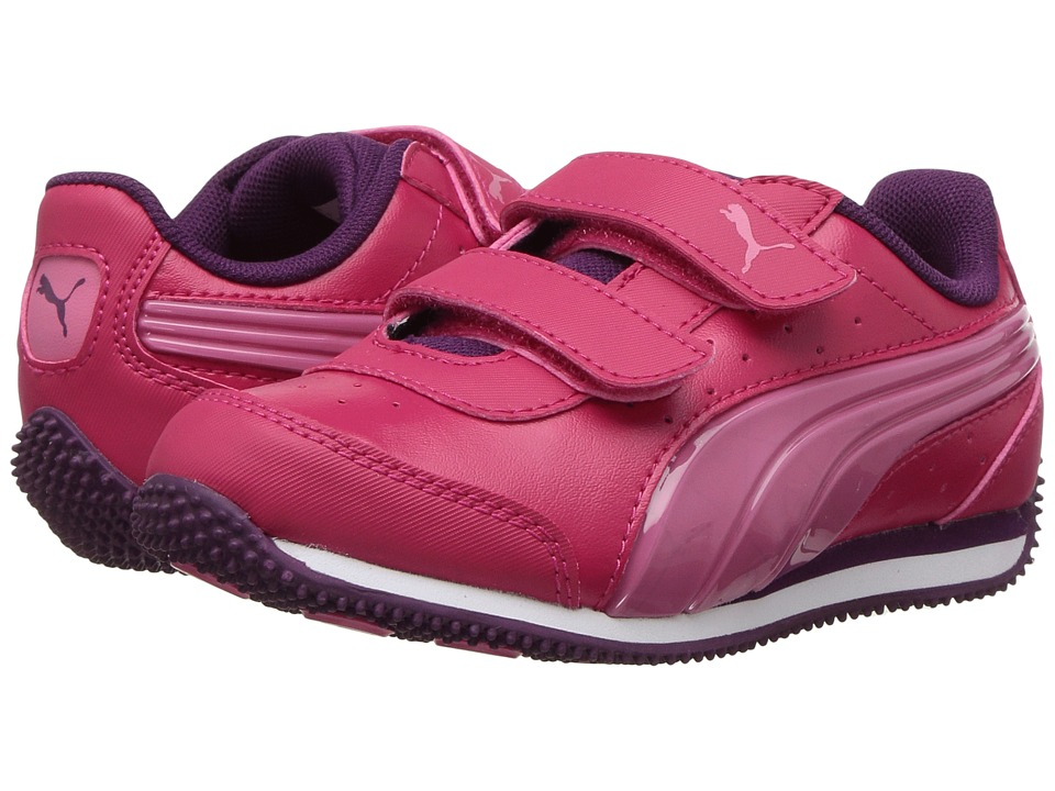 Puma Kids - Speed Light Up Power V (Toddler) (Love Potion/Rapture Rose) Girls Shoes