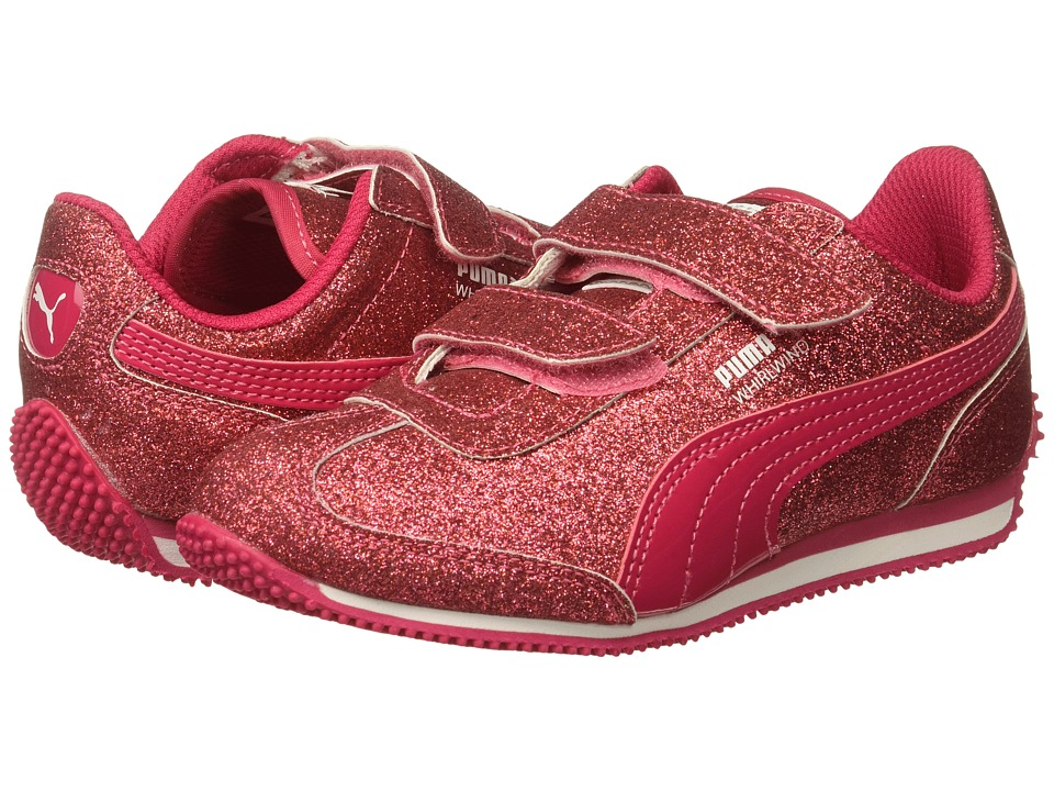 Puma Kids - Whirlwind Glitz V (Little Kid/Big Kid) (Love Potion/Love Potion) Girls Shoes