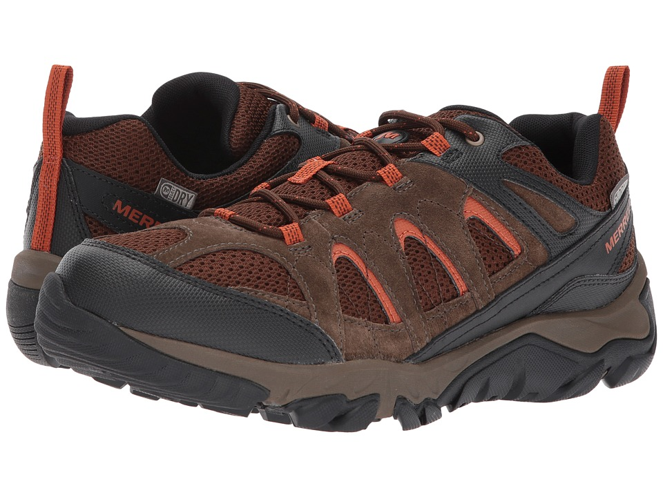 Merrell - Outmost Vent Waterproof (Slate Black) Mens Shoes