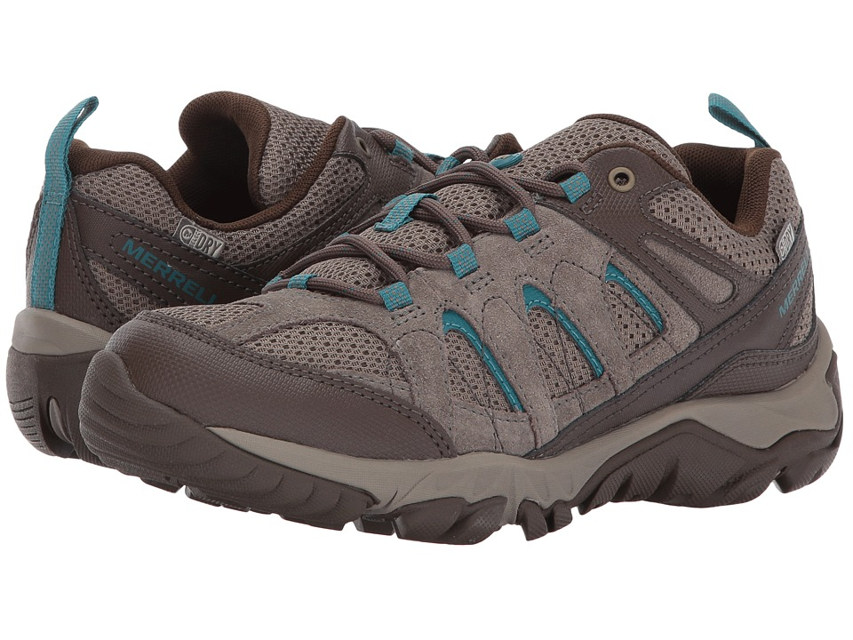 Merrell - Outmost Vent Waterproof (Boulder) Womens Shoes