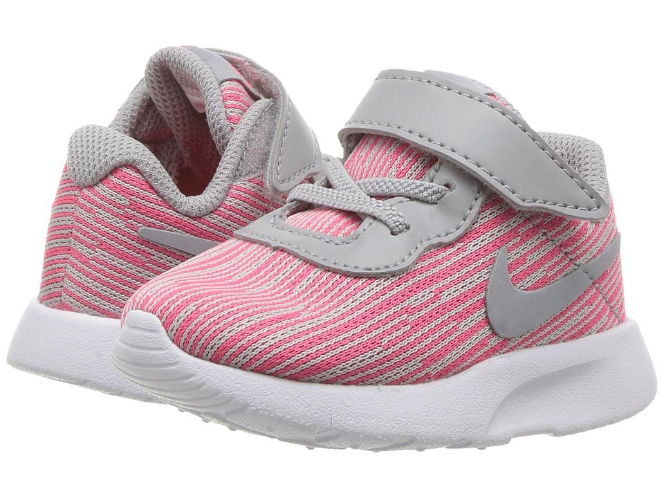 Nike Kids Tanjun SE (Infant/Toddler) (Hot Punch/Wolf Grey/White) Girls Shoes