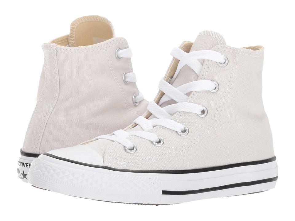 Converse Kids Chuck Taylor All Star Hi (Little Kid) (Pale Putty) Kids Shoes