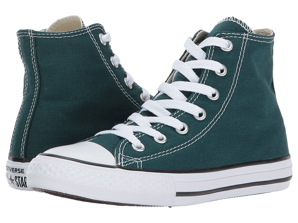 Converse Kids Chuck Taylor All Star Hi (Little Kid) (Dark Atomic Teal) Kids Shoes