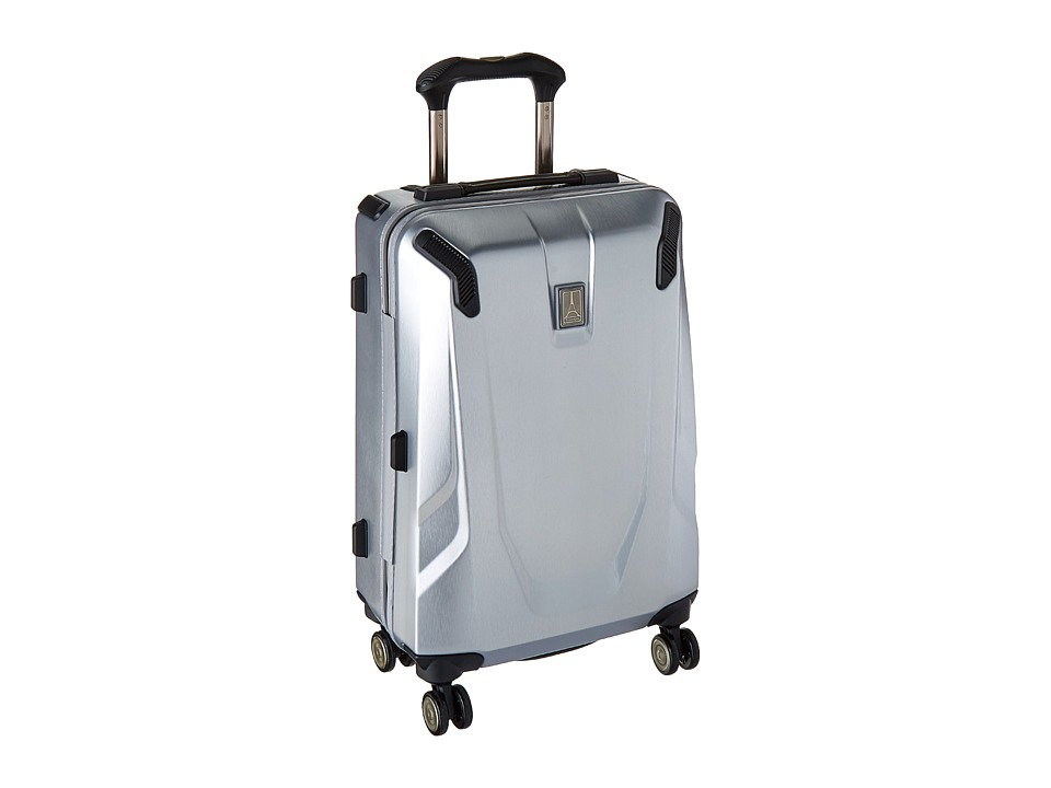 Travelpro Crew 11 Hardside 21 Spinner (Silver) Luggage