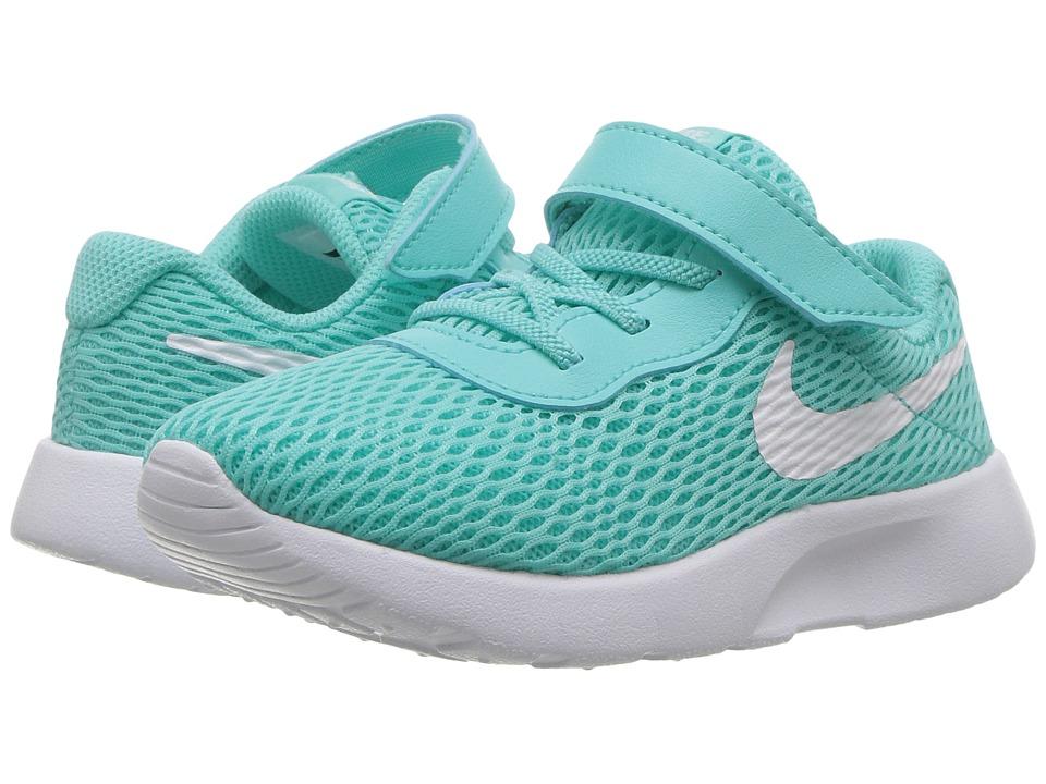 Nike Kids Tanjun (Infant/Toddler) (Aurora Green/White/White) Girls Shoes
