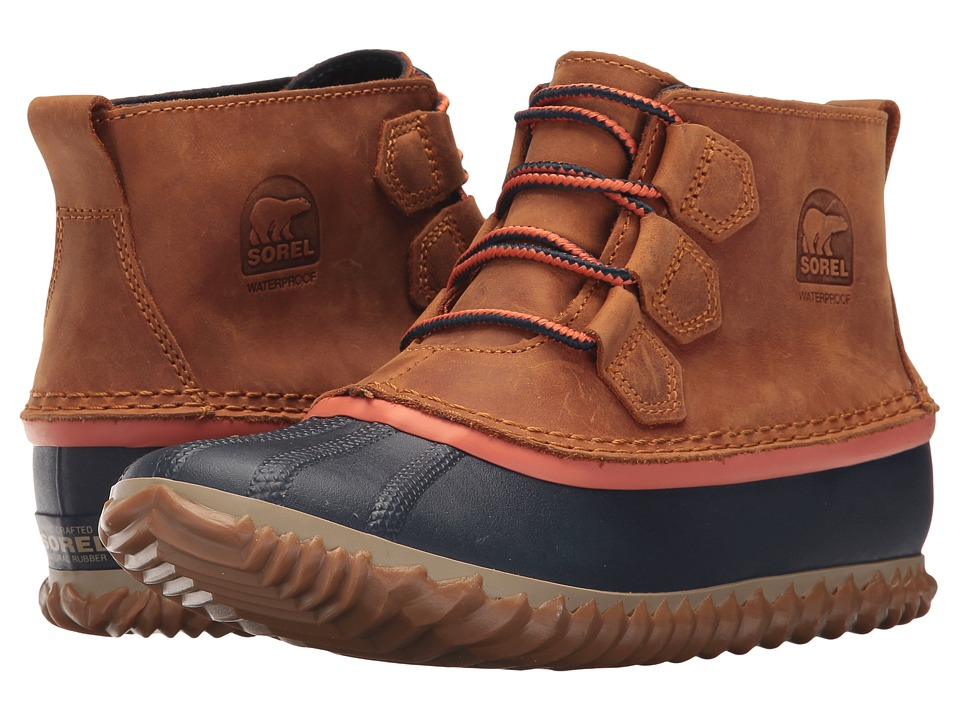 SOREL Out N About Leather (Caramel) Women