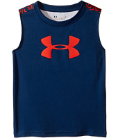 Under Armour Kids - Big Logo Midtown Grid Tank Top (Toddler)