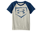 Under Armour Kids - Home Plate Logo Raglan Short Sleeve (Toddler)