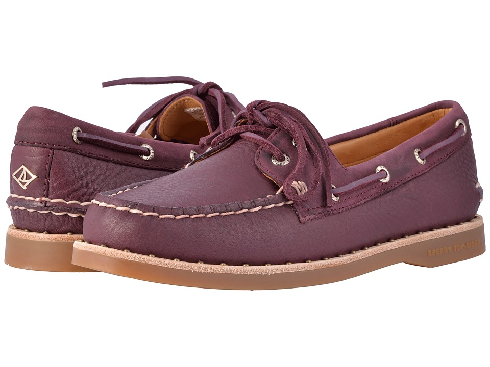 Sperry Gold Cup A/O Studded Welt (Grape) Women
